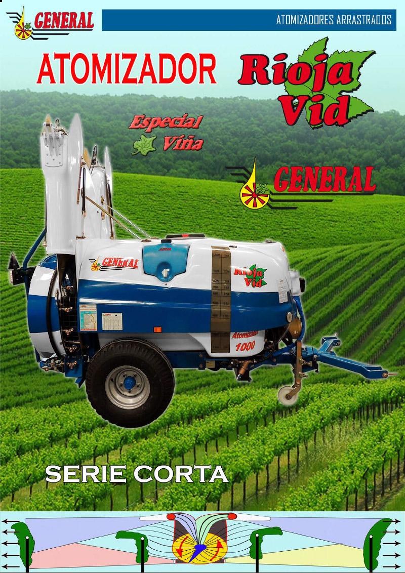 Atomizador arrastrado Rioja VId