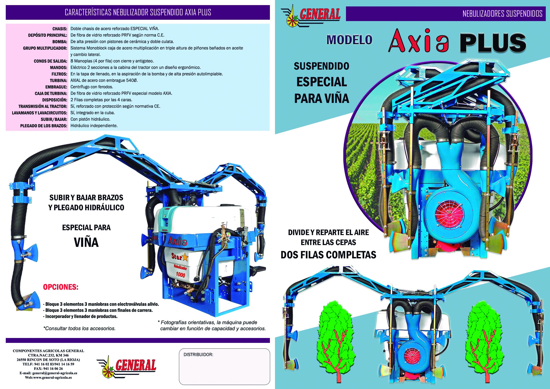 Nebulizador suspendido Axia Plus