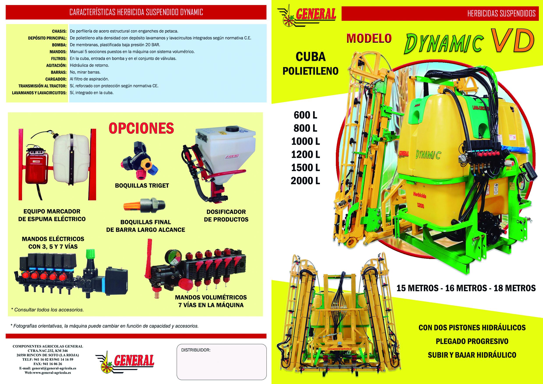 Herbicida suspendido Dynamic VD