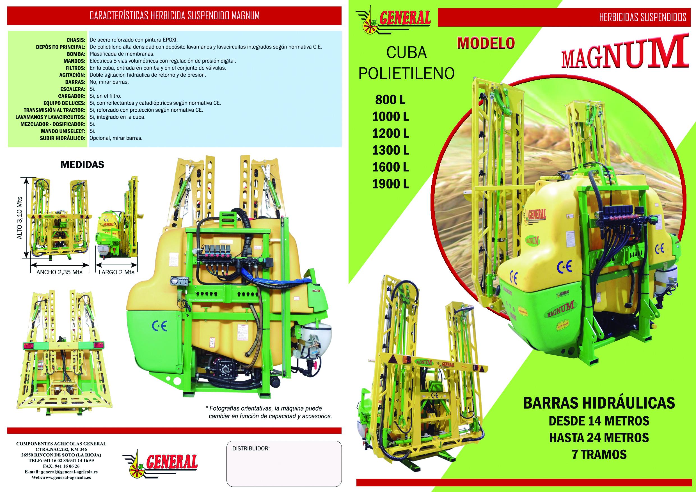 Herbicida suspendido Magnum