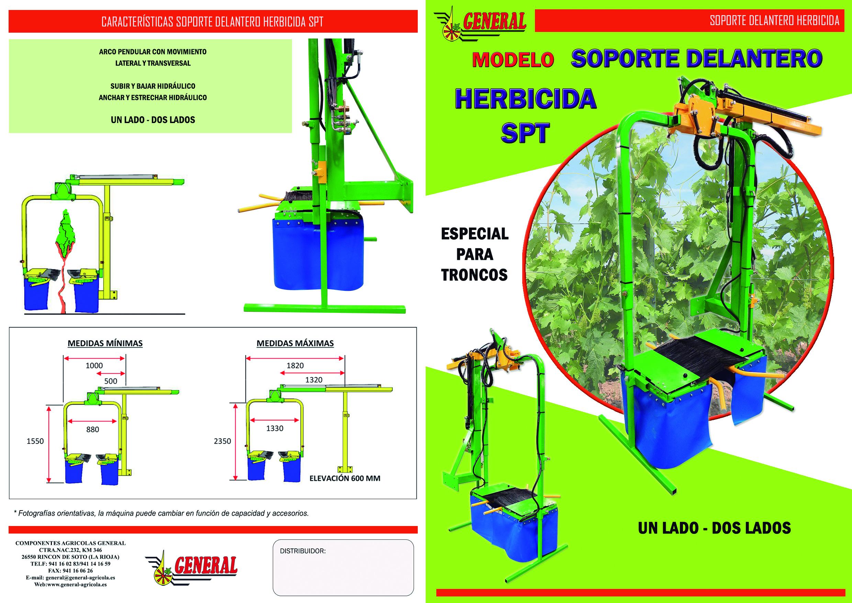 Soporte delantero herbicida SPT