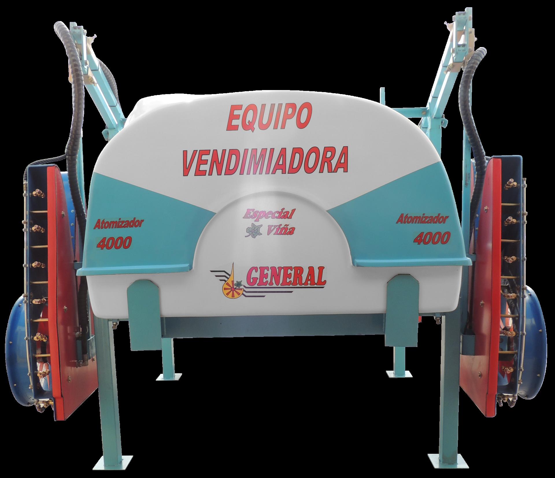 Equipo hidráulico para vendimiadora