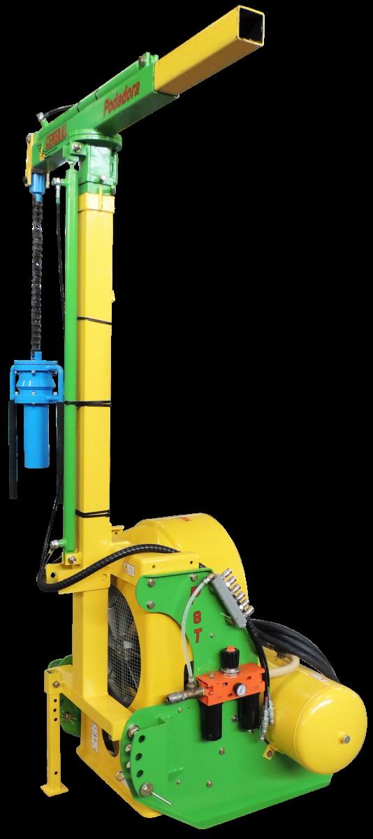 Clavadora de postes neumática